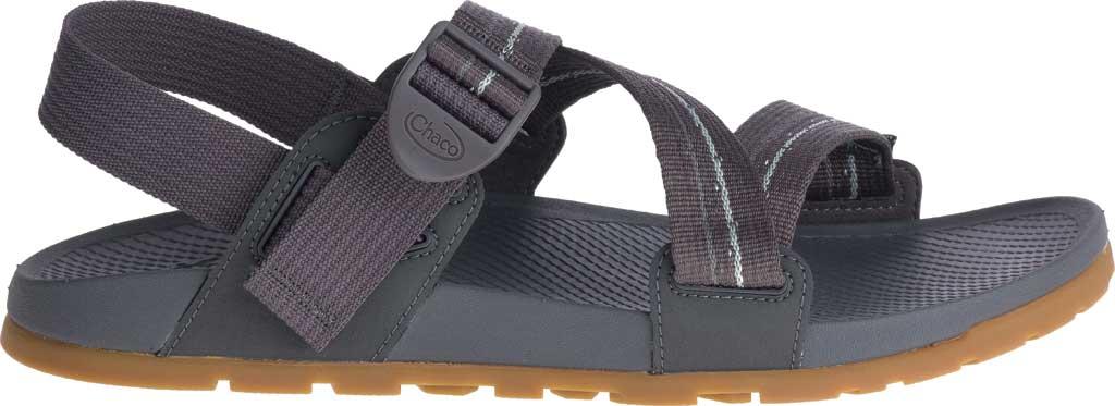Men's Chaco Lowdown Active Sandal, Grey, large, image 2