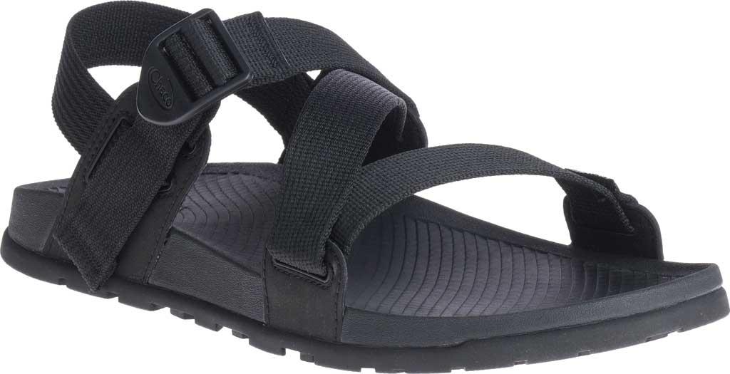 Men's Chaco Lowdown Active Sandal, Black, large, image 1