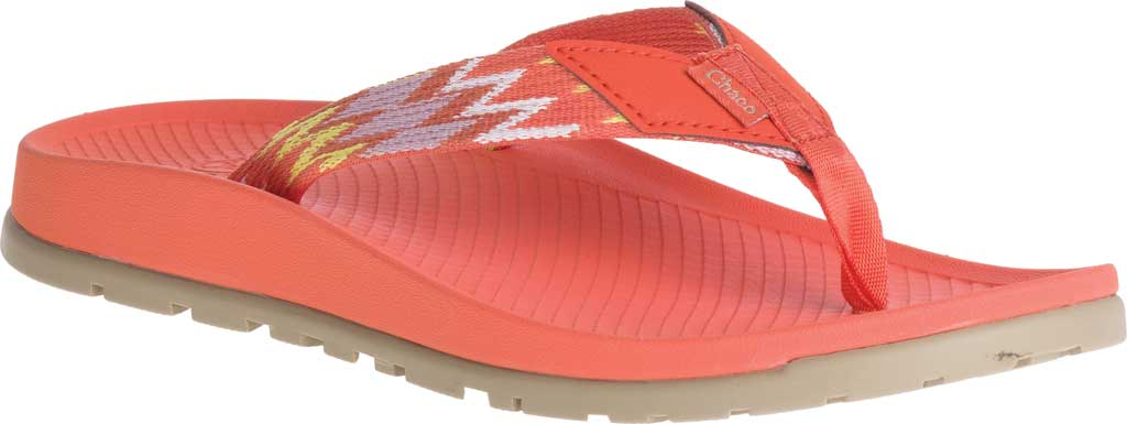 Women's Chaco Lowdown Flip Flop, Tricky Tiger, large, image 1