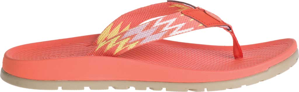 Women's Chaco Lowdown Flip Flop, Tricky Tiger, large, image 2