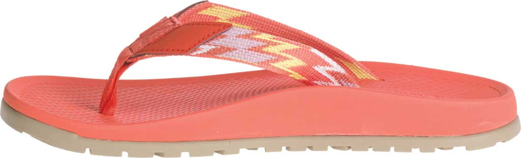 Women's Chaco Lowdown Flip Flop, Tricky Tiger, large, image 3