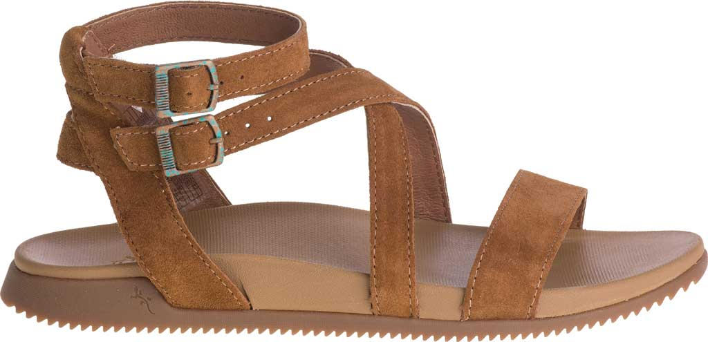 Women's Chaco Rose Ankle Strap Sandal, Toffee Full Grain Leather, large, image 2