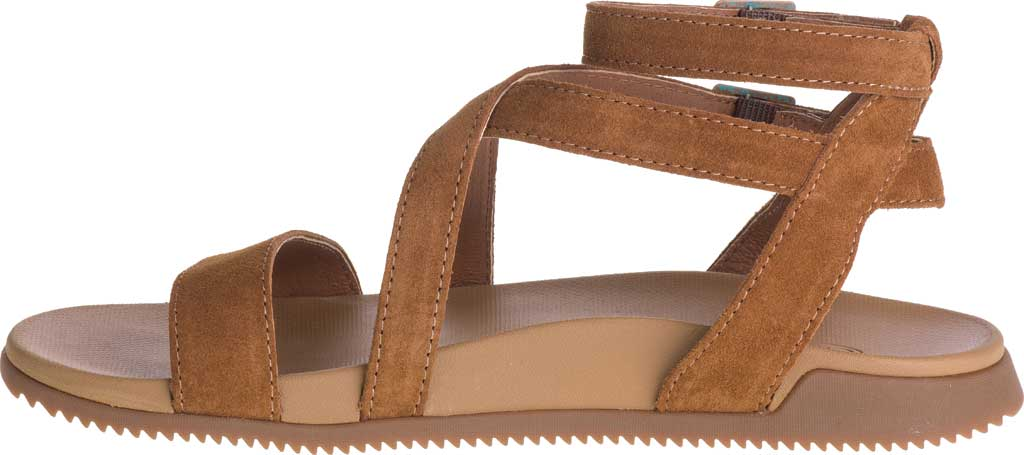Women's Chaco Rose Ankle Strap Sandal, Toffee Full Grain Leather, large, image 3