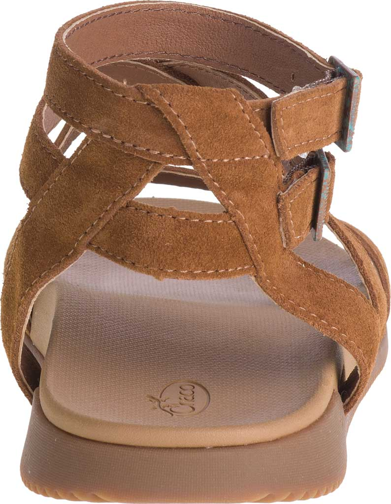 Women's Chaco Rose Ankle Strap Sandal, Toffee Full Grain Leather, large, image 4