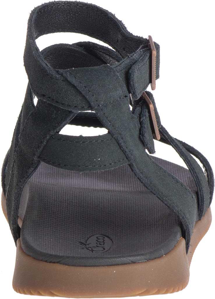 Women's Chaco Rose Ankle Strap Sandal, Black Full Grain Leather, large, image 4