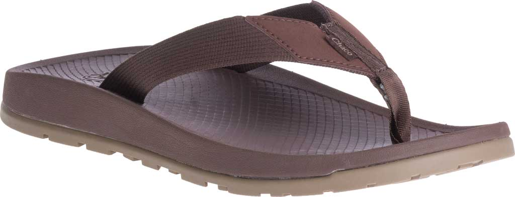 Men's Chaco Lowdown Flip Flop, Brown, large, image 1