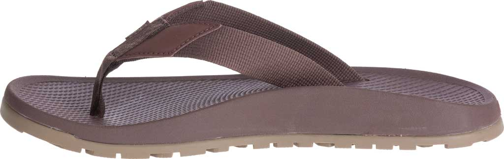 Men's Chaco Lowdown Flip Flop, Brown, large, image 3
