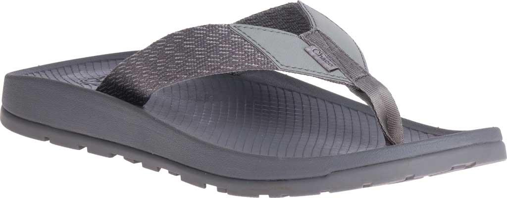 Men's Chaco Lowdown Flip Flop, Pitch Grey, large, image 1