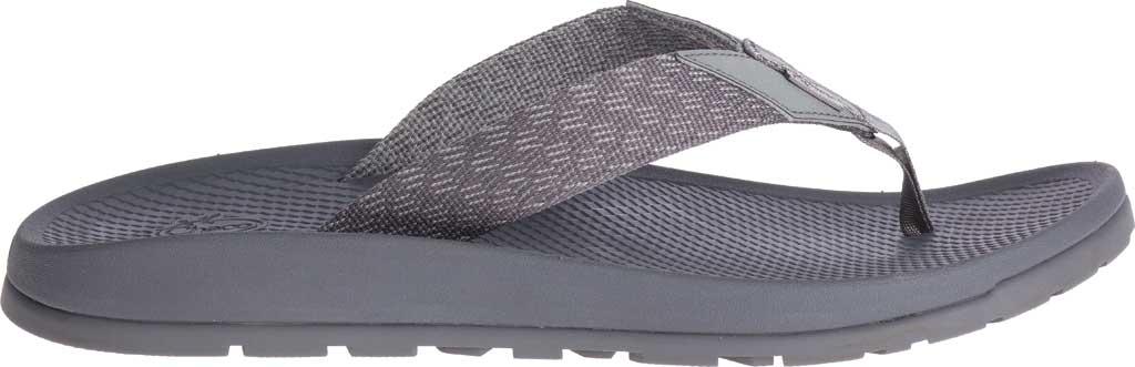 Men's Chaco Lowdown Flip Flop, Pitch Grey, large, image 2