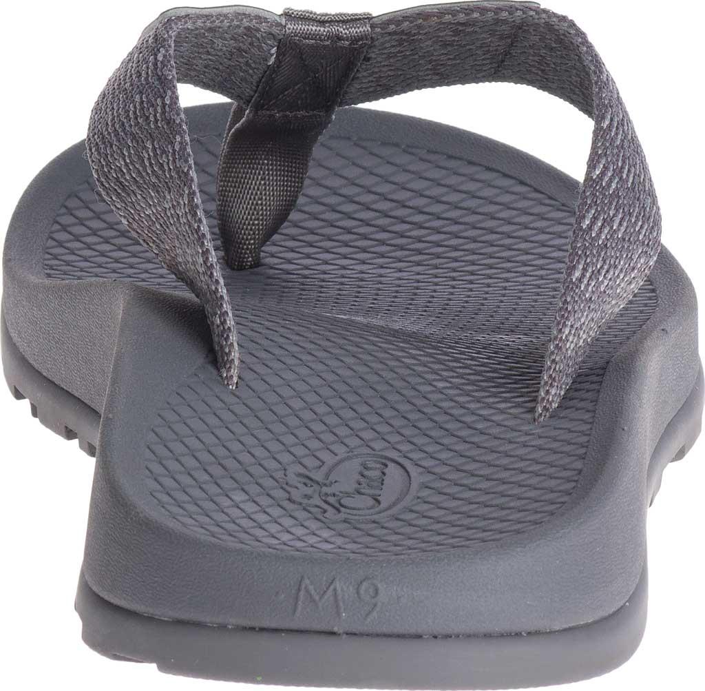 Men's Chaco Lowdown Flip Flop, Pitch Grey, large, image 4