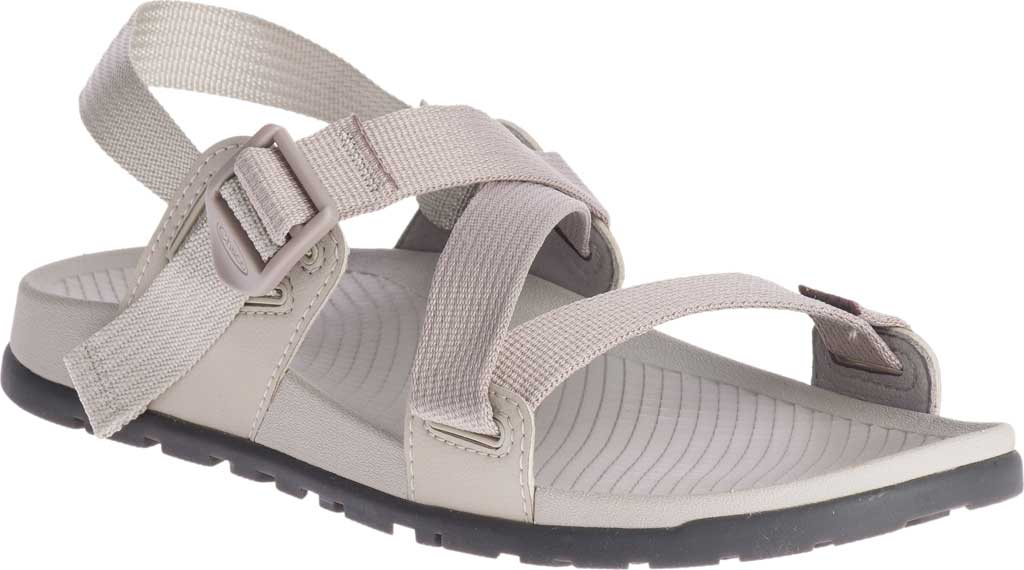 Women's Chaco Lowdown Active Sandal, Light Grey, large, image 1