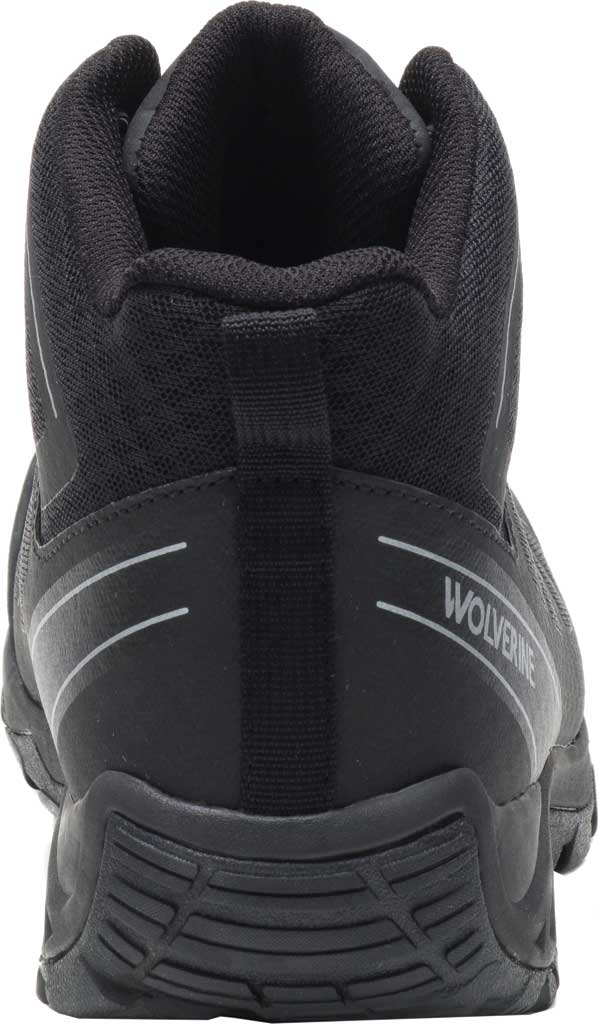 Men's Wolverine Amherst II Mid Composite Toe Work Boot, Black Mesh/TPU, large, image 3