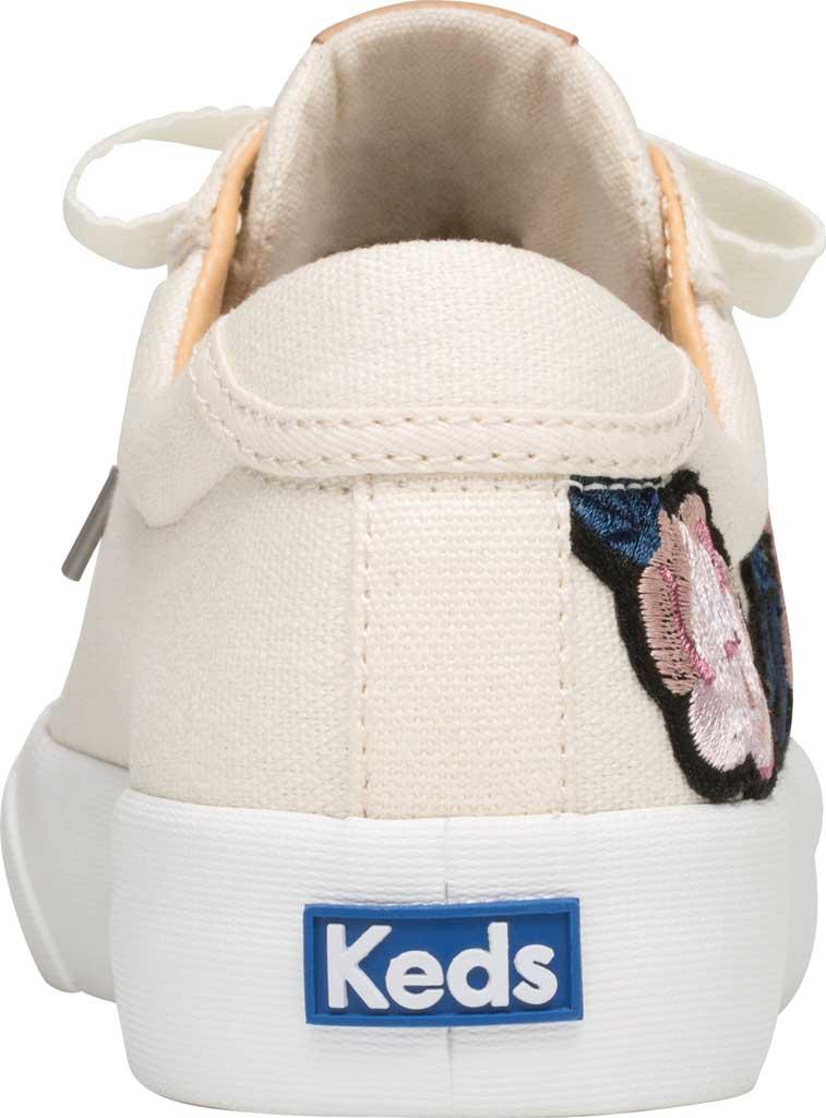 Women's Keds Crew Kick 75 Applique Sneaker, Natural Canvas, large, image 3