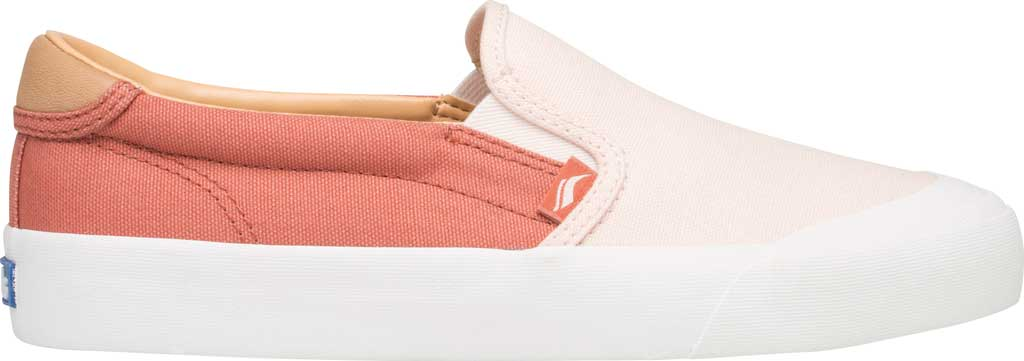 Women's Keds Crew Kick 75 Slip On Canvas Sneaker, Coral/Rose Canvas, large, image 2