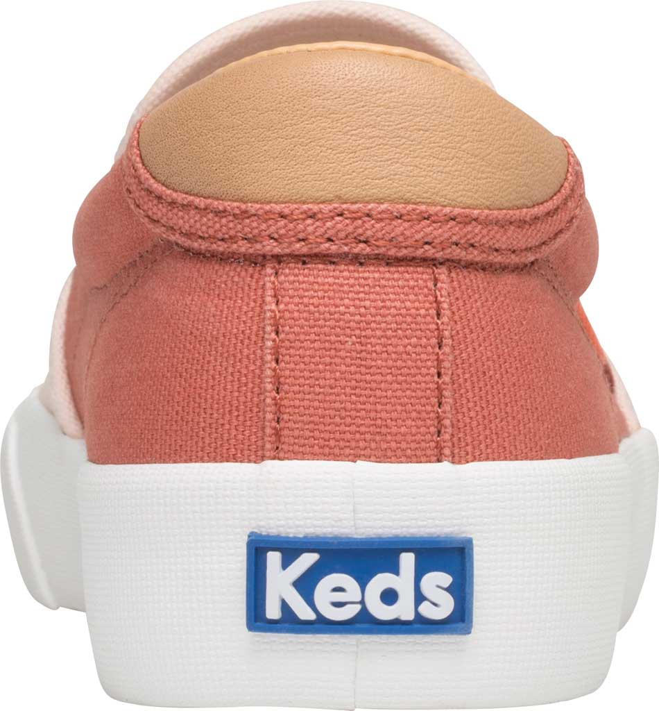 Women's Keds Crew Kick 75 Slip On Canvas Sneaker, Coral/Rose Canvas, large, image 3