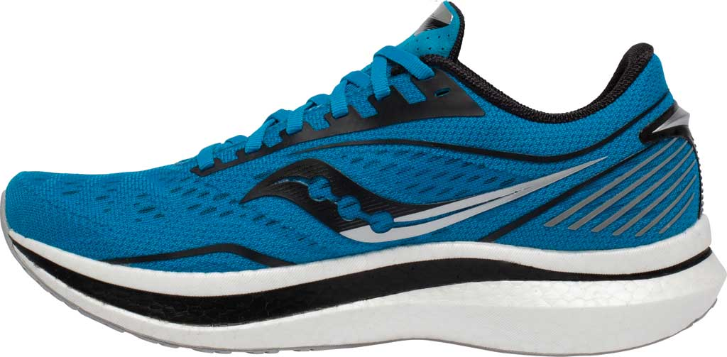 Men's Saucony Endorphin Speed Running Sneaker, Cobalt/Silver, large, image 3