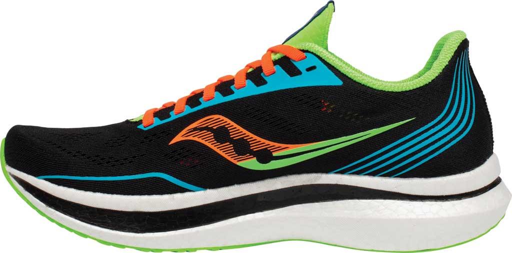Men's Saucony Endorphin Pro Running Sneaker, Future/Black, large, image 3