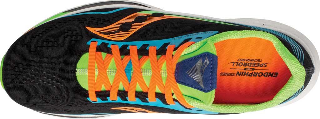 Men's Saucony Endorphin Pro Running Sneaker, Future/Black, large, image 4