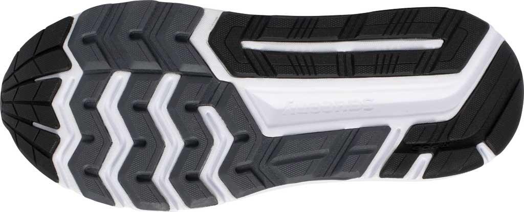 Men's Saucony Echelon 8 Running Sneaker, Black/White, large, image 5