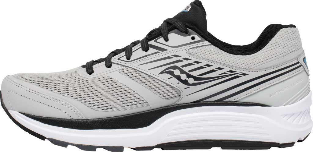 Men's Saucony Echelon 8 Running Sneaker, Alloy/Black, large, image 3