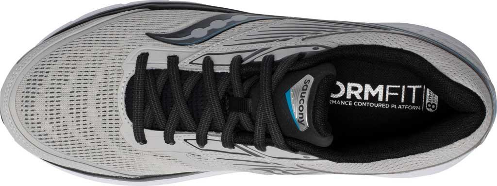 Men's Saucony Echelon 8 Running Sneaker, Alloy/Black, large, image 4