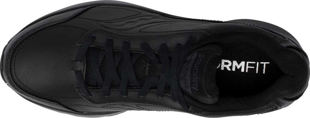 Men's Saucony Omni Walker 3 Walking Sneaker, Black, large, image 4