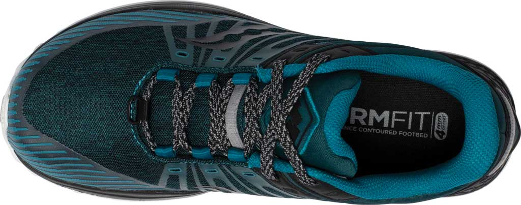 Men's Saucony Mad River TR2 Trail Running Sneaker, Teal/Black, large, image 4
