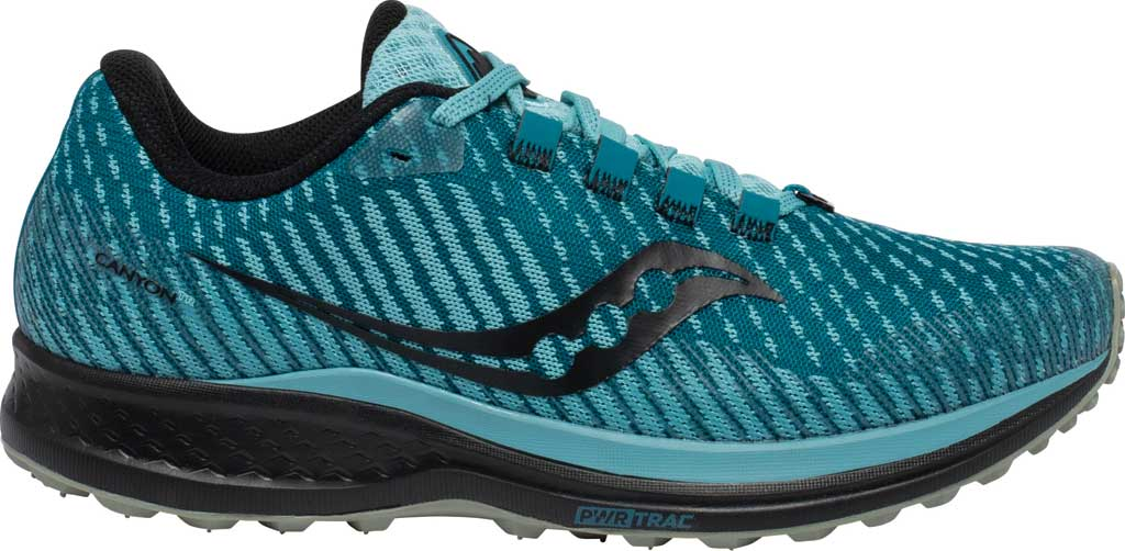 Women's Saucony Canyon TR Trail Running Sneaker, Marine Black, large, image 2