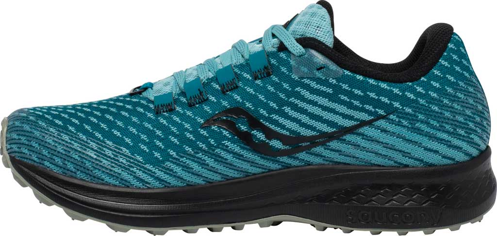 Women's Saucony Canyon TR Trail Running Sneaker, Marine Black, large, image 3