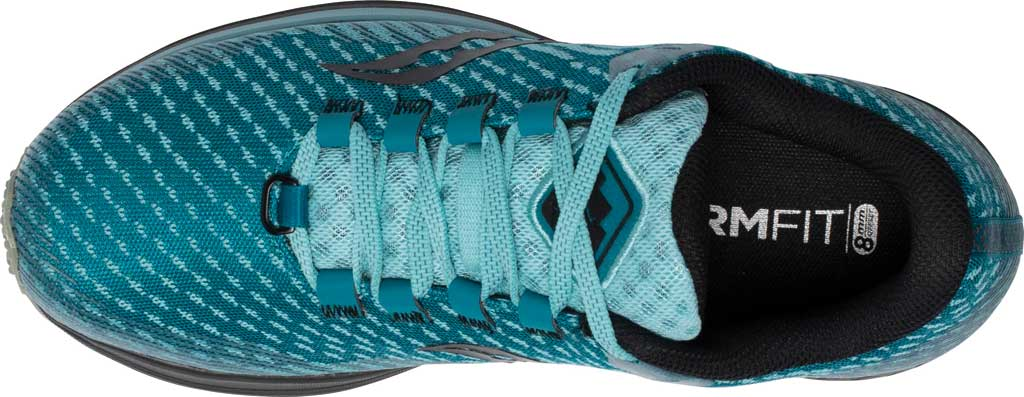 Women's Saucony Canyon TR Trail Running Sneaker, Marine Black, large, image 4