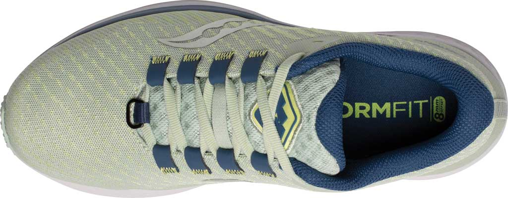 Women's Saucony Canyon TR Trail Running Sneaker, Tide/Storm, large, image 4