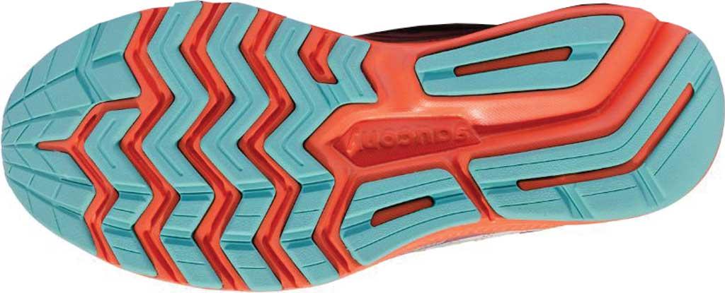 Women's Saucony Ride 13 Running Sneaker, Grey/Orange, large, image 5
