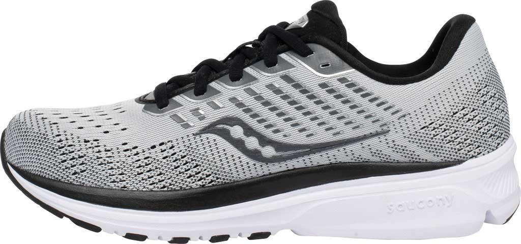 Women's Saucony Ride 13 Running Sneaker, Alloy/Black, large, image 3