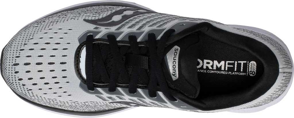 Women's Saucony Ride 13 Running Sneaker, Alloy/Black, large, image 4