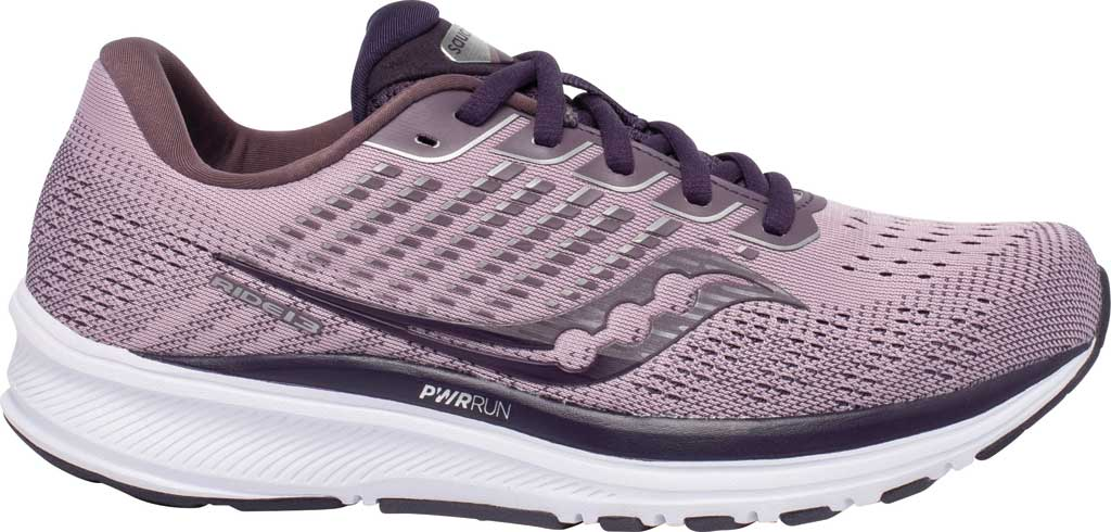 Women's Saucony Ride 13 Running Sneaker, Blush/Dusk, large, image 2