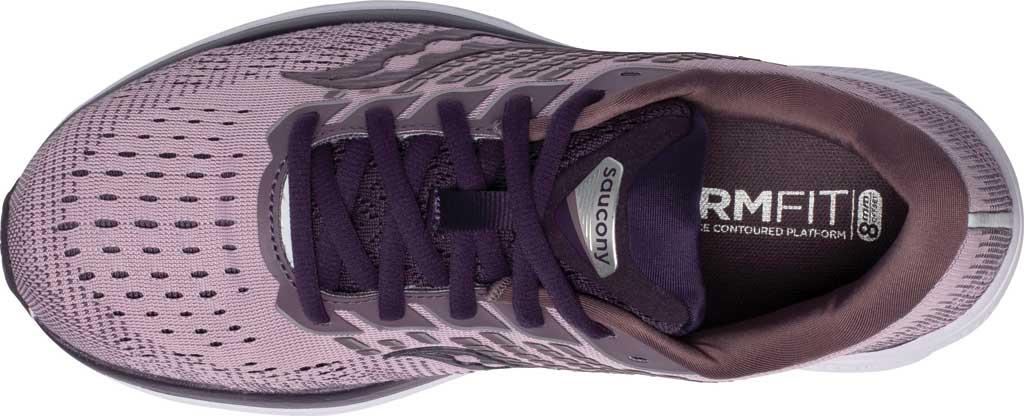Women's Saucony Ride 13 Running Sneaker, Blush/Dusk, large, image 4