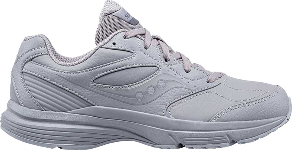 Women's Saucony Integrity Walker 3 Walking Sneaker, Grey, large, image 2