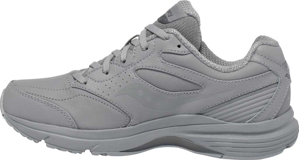 Women's Saucony Integrity Walker 3 Walking Sneaker, Grey, large, image 3