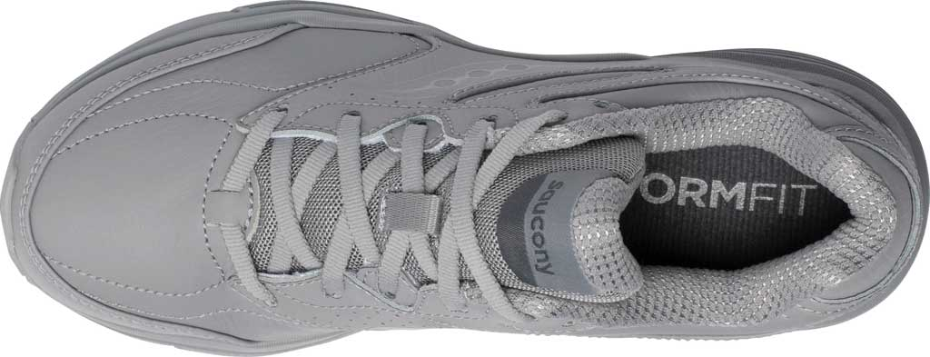 Women's Saucony Integrity Walker 3 Walking Sneaker, Grey, large, image 4