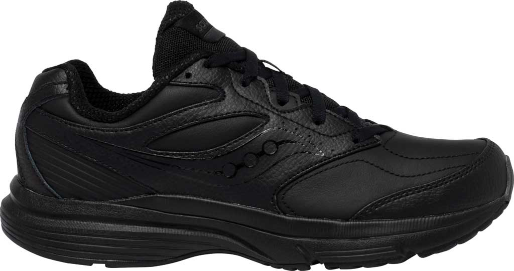 Women's Saucony Integrity Walker 3 Walking Sneaker, Black, large, image 2