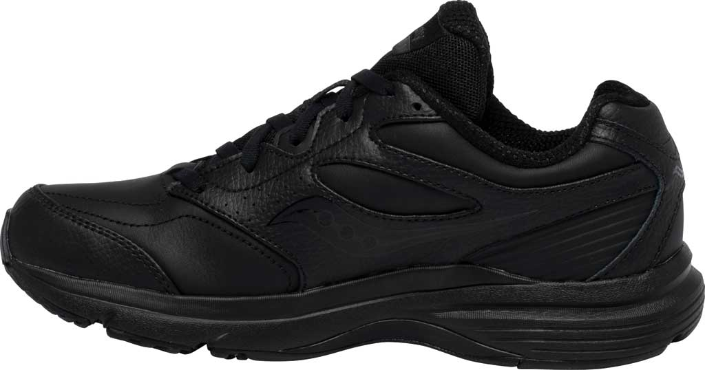 Women's Saucony Integrity Walker 3 Walking Sneaker, Black, large, image 3