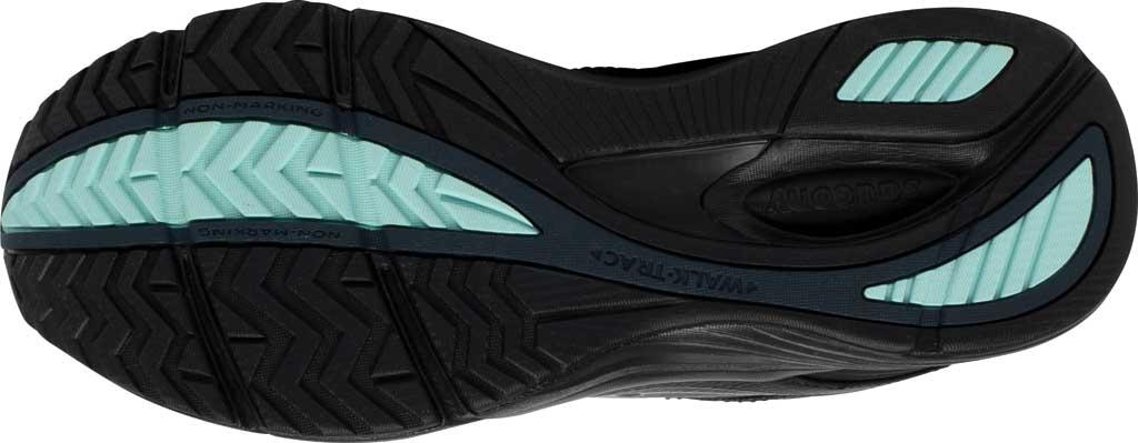 Women's Saucony Integrity Walker 3 Walking Sneaker, Black, large, image 5