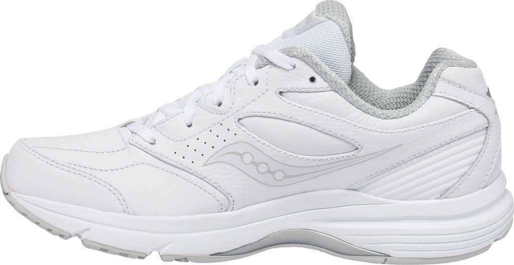 Women's Saucony Integrity Walker 3 Walking Sneaker, White, large, image 3