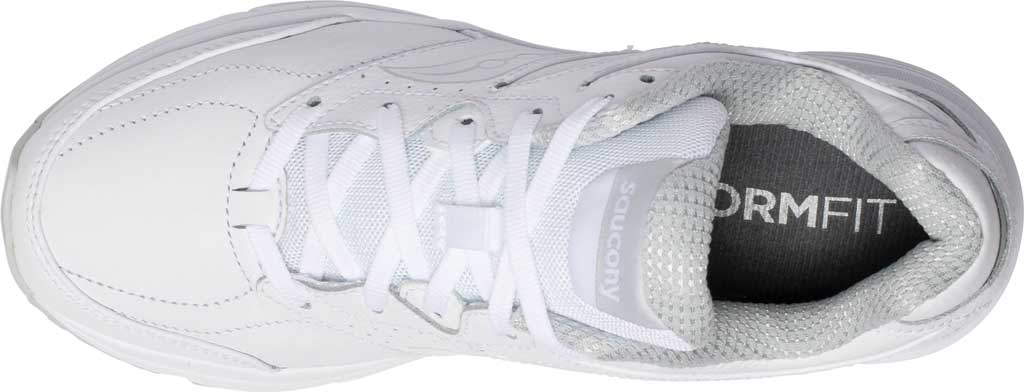 Women's Saucony Integrity Walker 3 Walking Sneaker, White, large, image 4
