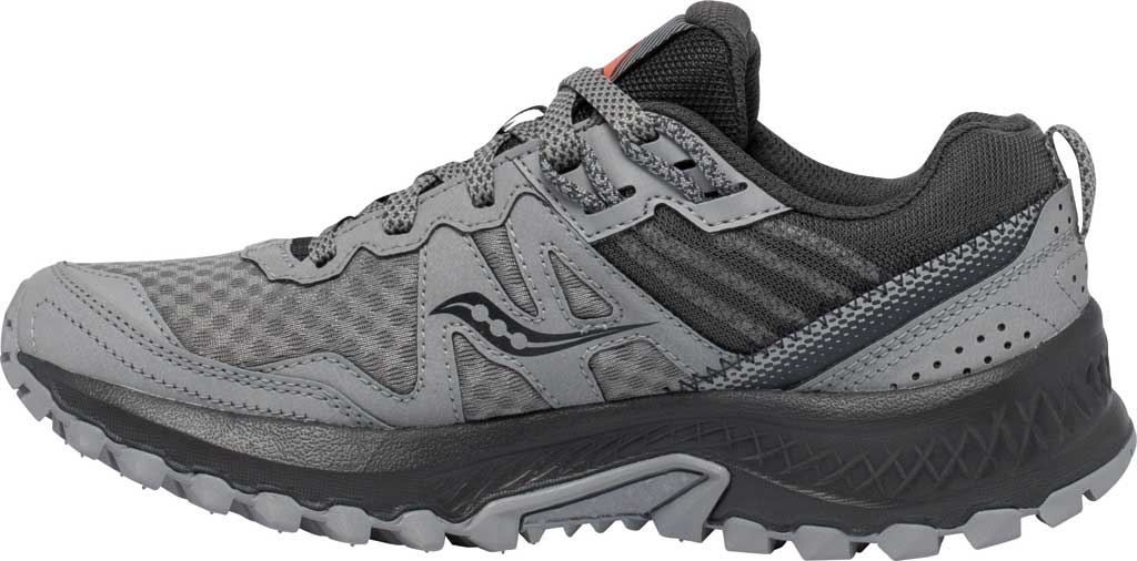 Women's Saucony Excursion TR14 GORE-TEX Trail Running Sneaker, Grey/Coral, large, image 3