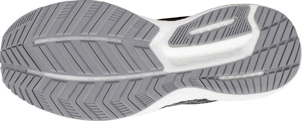 Men's Saucony Triumph 18 Running Sneaker, Charcoal/White, large, image 5