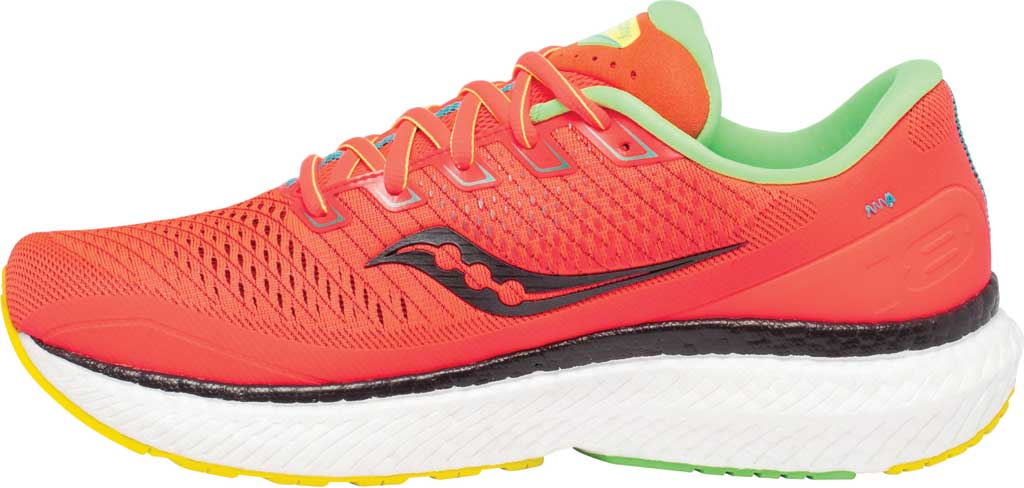 Men's Saucony Triumph 18 Running Sneaker, Red Mutant, large, image 3