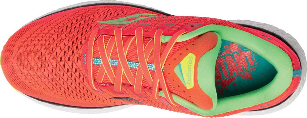 Men's Saucony Triumph 18 Running Sneaker, Red Mutant, large, image 4