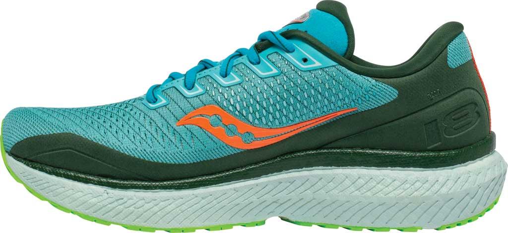 Men's Saucony Triumph 18 Running Sneaker, Future/Blue, large, image 3
