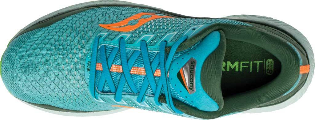Men's Saucony Triumph 18 Running Sneaker, Future/Blue, large, image 4